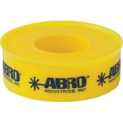 Abro PTFE Thread Seal Tape Light Yellow For Gas Pipes