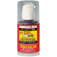 Abro ABROLOK® Gel Permanent Threadlock