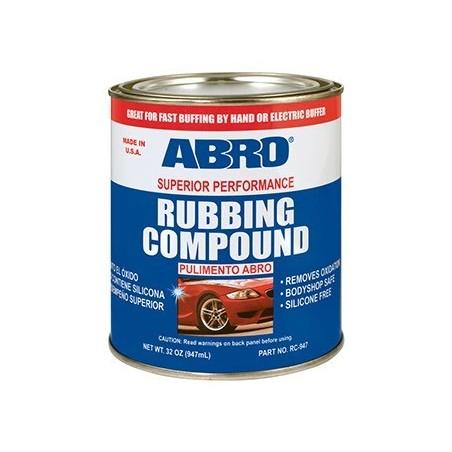 Abro Rubbing Compound Superior Performance
