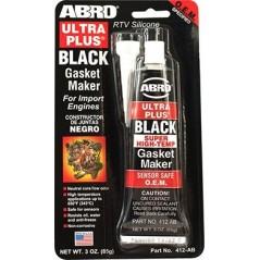 Abro Ultra Plus® Black RTV Silicone Gasket Maker
