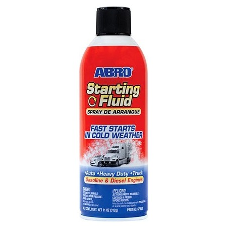 Abro Starting Fluid
