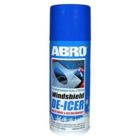 Abro Windshield De-Icer