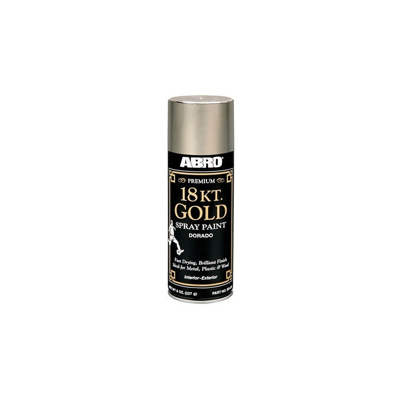 Abro Premium 18 Kt. Gold Spray Paint