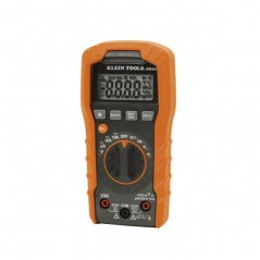 Klein Digital Multimeter, Auto-Ranging, 600V