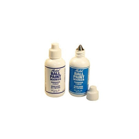 MARKAL Ball Paint Marker - Metal Tip 3 Mm, Plastic Bottle - Piecewise