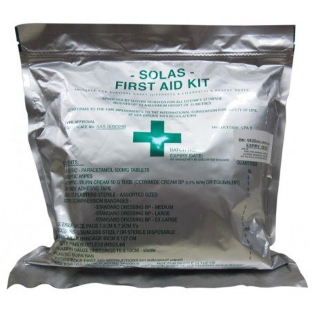 First Aid Kit SOLAS 74, For Life Boats - Life Rafts