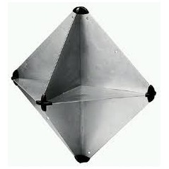 Folding Tetrahedral Radar Reflector RORC 340 x 340mm