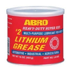 Abro 2 Super Red Lithium Grease