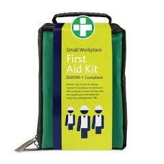 First aid kit - Small Workplace Kit BS8599-1