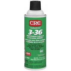 CRC 3-36 Multi-Purpose Lubricant and Corrosion Inhibitor, 1, 5, 55 GAL, 5 WT OZ, 11 WT OZ, 16 FL OZ