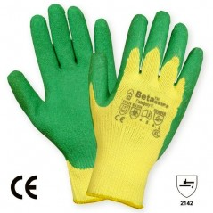 Beta Gripz Latex Coated Anti - Slip Hand Glove