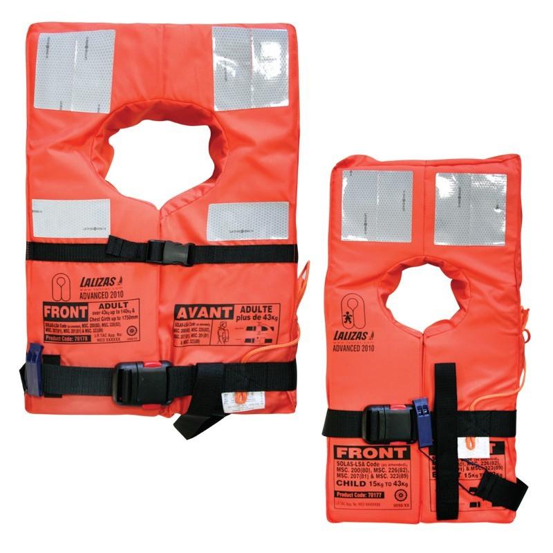 Advanced Life jacket SOLAS - LSA Code 2010 Adult/Child