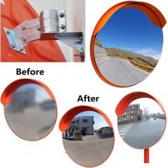 Circular Indoor/Outdoor Traffic Convex Mirrors