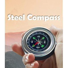 Stainless Steel Directional - Navigation Magnetic Compass