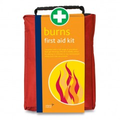 Reliance Burns First Aid Kit in Red Stockholm Bag