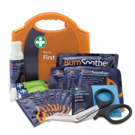 Reliance Burns First Aid Kit in Orange Integral Aura Box