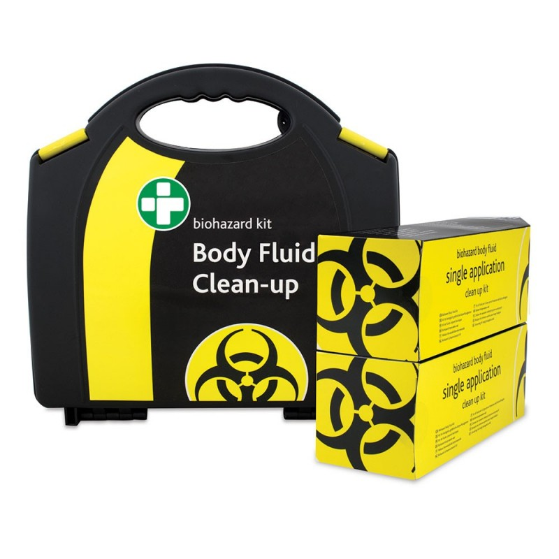 2 Application Body Fluid Clean-Up Kit
