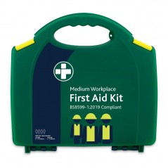 Reliance BS8599-1:2019 Medium Workplace First Aid Kit in Green Integral Aura Box