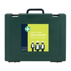 BS8599-1-2019 Large Workplace Kit in Green Cambridge Box – inc bracket