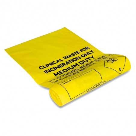 Reliance Small and Large Clinical Waste Sacks