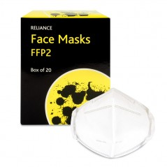 Reliance Face Masks FFP2 - Box of 20