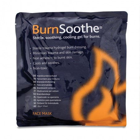 Reliance BurnSoothe Face Mask Burn Dressings