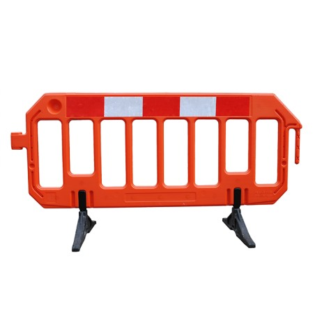 Gate Barrier is the most popular original Chapter 8 blow moulded barrier. This superior blow moulded HDPE barrier offers superb