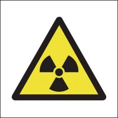 Buy your Radiation Symbol Signs online with Safety Nigeria - Warn visitors and employees of potential radiation hazards in and a