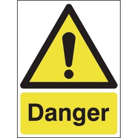 Buy your Danger Signs online at Safety Nigeria - Warn visitors and employees of potential dangers - Buy from Safety Sign Shop Ni