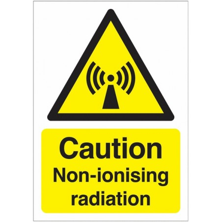 Caution Non-Ionising Radiation Signs