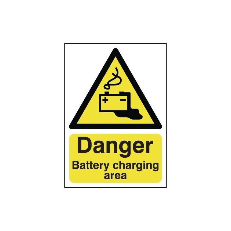 Buy your Danger Battery Charging Area Signs online at safety nigeria - Identify and warn visitors and staff of possible hazards
