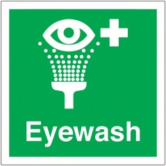 Buy your Eye Wash Signs online at safety nigeria - Indicate clearly where your emergency eye wash is located - Order from safety