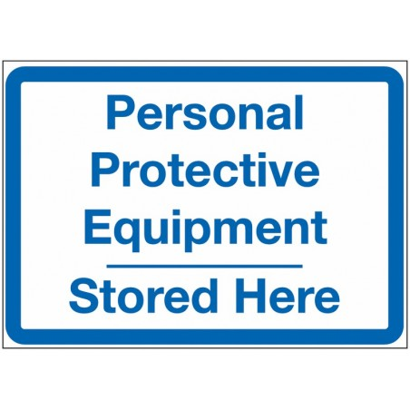 PPE Locker Signs - PPE Stored Here