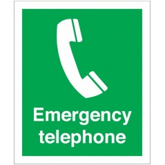 Buy your Emergency Telephone Signs online at safety nigeria - Clearly identify the location of emergency equipment - Order from