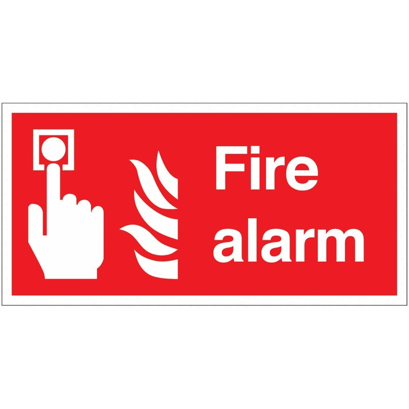 Buy your Fire Alarm Signs online at safety nigeria - Clearly identify where your fire alarm is located - order fire alarm signs
