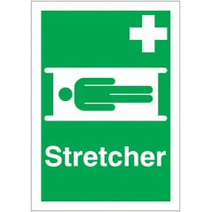 Buy your Stretcher First Aid Signs online at safety nigeria - Indicate clearly where your first aid equipment is located | Order