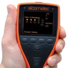 Elcometer 224 Digital Surface Profile Gauge provides fast and accurate surface profile measurements on flat and curved surfaces