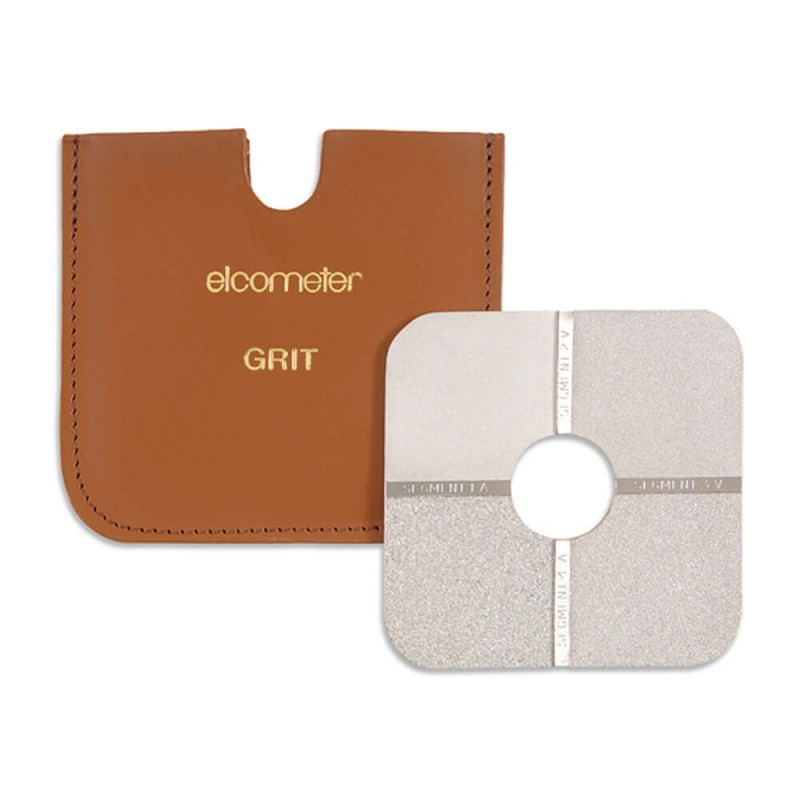 Elcometer 125 Surface Comparators are used to estimate a surface profile of either grit or shot blasted surfaces - Order for you