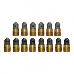 125° Angle Nozzles - Triple Outlet