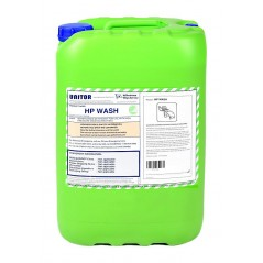 This is an alkaline cleaner with detergents and surfactants which quickly dissolve grease and dirt deposits, designed for use wi
