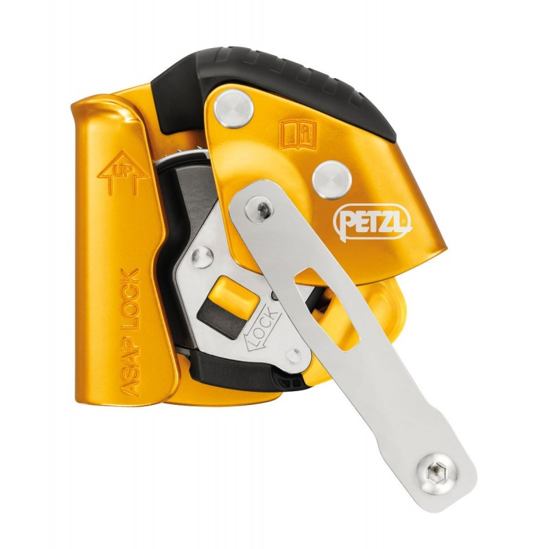 Petzl Asap Lock Mobile Fall Arrester with Locking Function