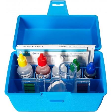 Pentair R151186 All-in-One 78HR Swimming Pool Water Testing Maintenance Kit