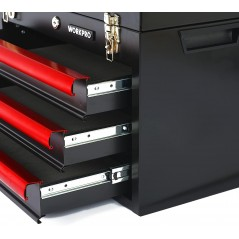 Performance Workpro Mechanics Tool Set with 3-Drawer Heavy Duty Metal Box
