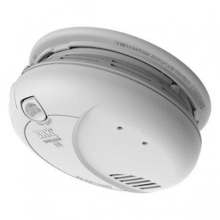 BRK 7010BE Optical Smoke Alarm, Mains Powered with 9 V Battery Backup