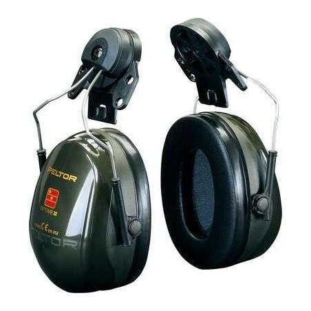 3M PELTOR Optime II Earmuffs, 30 dB, Helmet Mounted, H520P3E-410-GQ-01