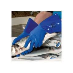 Telsol 351 Oil, chemical Resistant Protective Cotton Interlock Glove