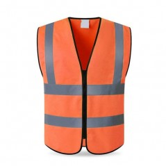 Non-Zip Hi Vis Reflective Jacket