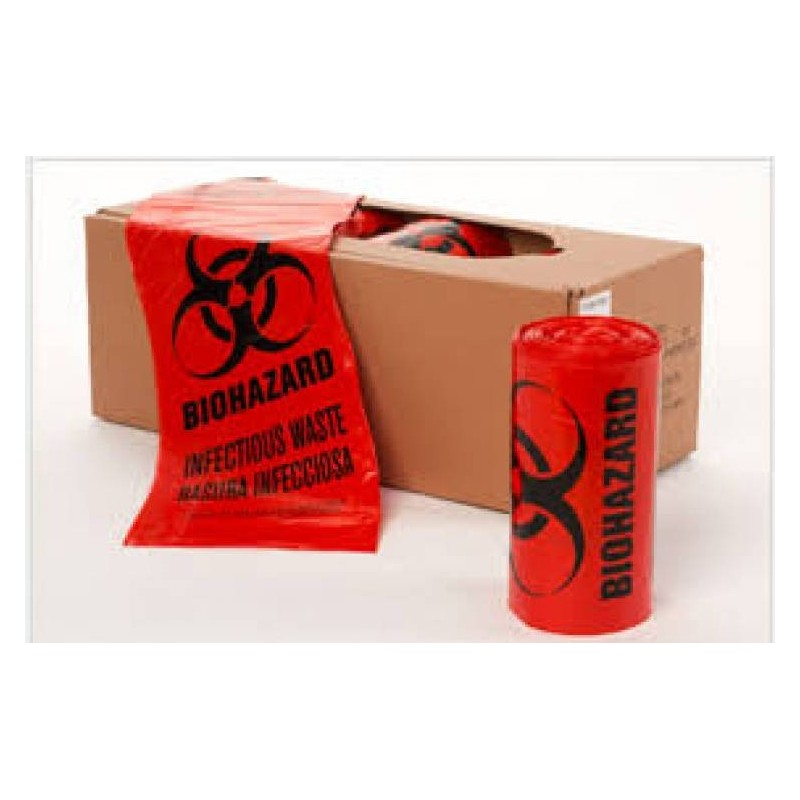 Biohazard Waste Disposable Bag