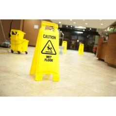 Wet Floor Safety Sign - Caution