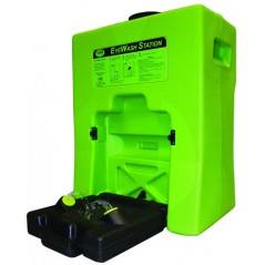 SAS Safety 8244R60EA 5135 Portable Low Profile Portable Eyewash Station, 15 gallon of Water
